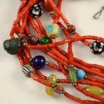 Coral Trade Bead Necklace