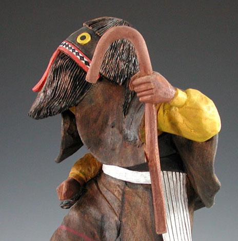 Michael Talahytewa Ogre Kachina
