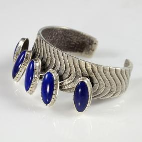 Lapis Bracelet by Samuel LaFountain