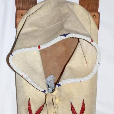 Beaded Cradle Board, Sedona Native American Art