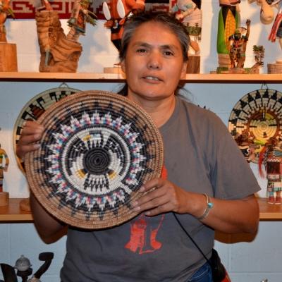 Navajo Basket by Sally Black