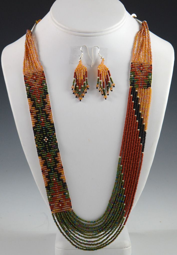 Navajo Beaded Necklace Rena Charles
