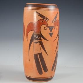 Hopi Pottery Vase by Rachel Sahmie Nampeyo