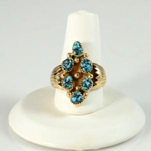 Sedona Indian Jewelry Navajo Turquoise Ring