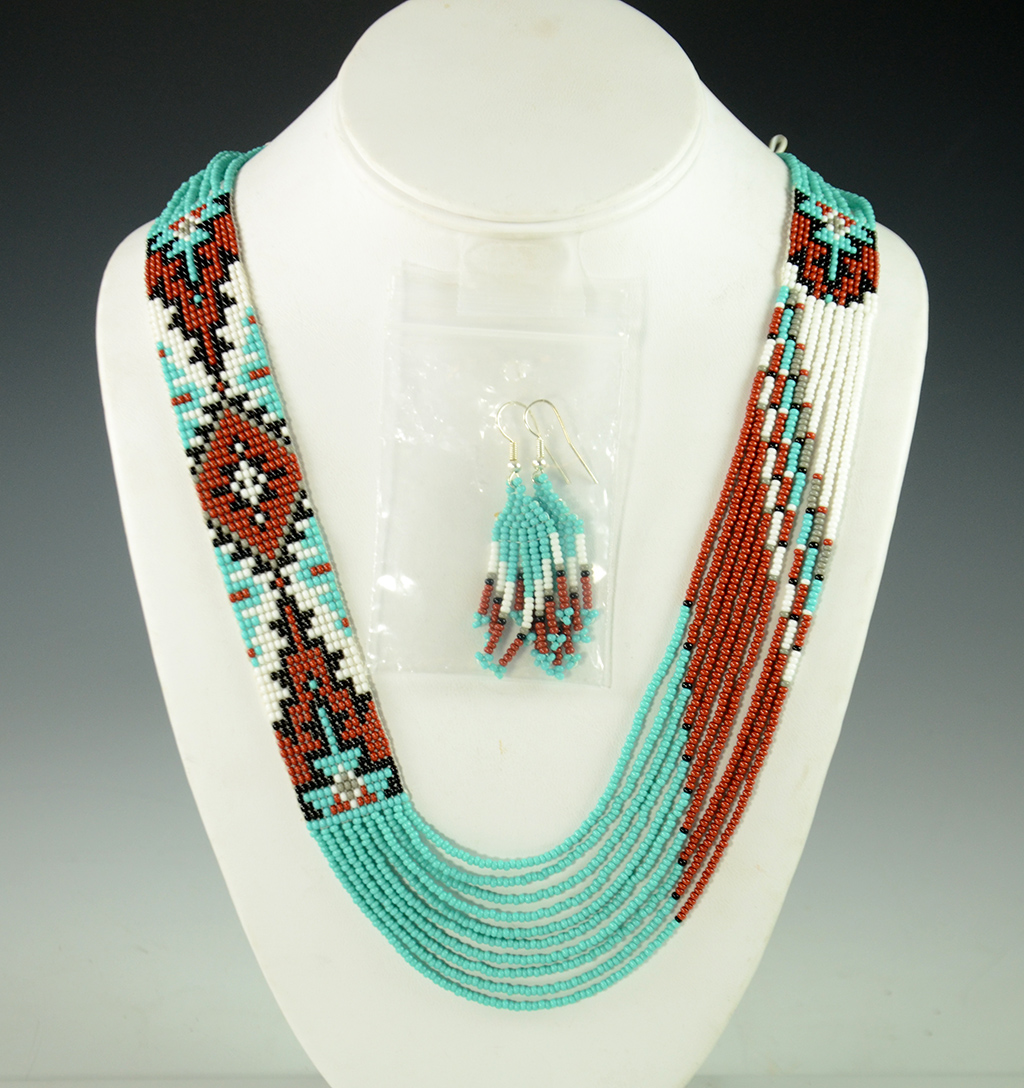 Beaded Navajo Necklace Rena Charles