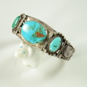 Blue Gem Turquoise Bracelet, Sedona Indian Jewelry, Sedona Native American Jewelry,Turquoise Jewelry