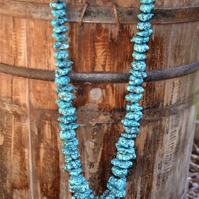 Lone Mountain Turquoise Nugget Necklace