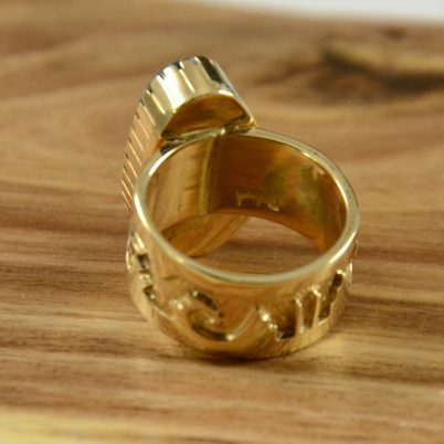 14kt Gold Ring by Dina Huntinghorse Hoel s Indian Shop