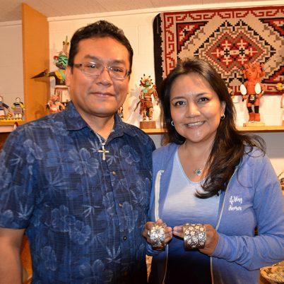 Rebecca Begay, Darryl Begay, Navajo Jewelry