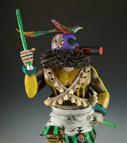 Hopi Kachina, Hopi Sipikne Katsina by David Jensen