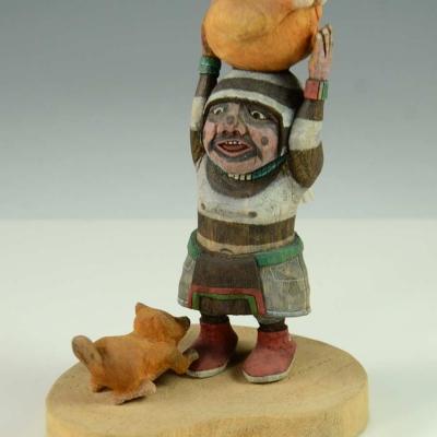 Koyala Kachina by Ted Pavatea, Hopi Kachina Carver