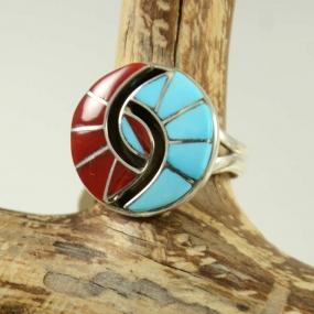 Amy Quandelacy Zuni Inlay Ring