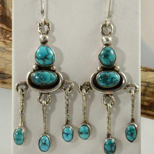 greg lewis turquoise earrings