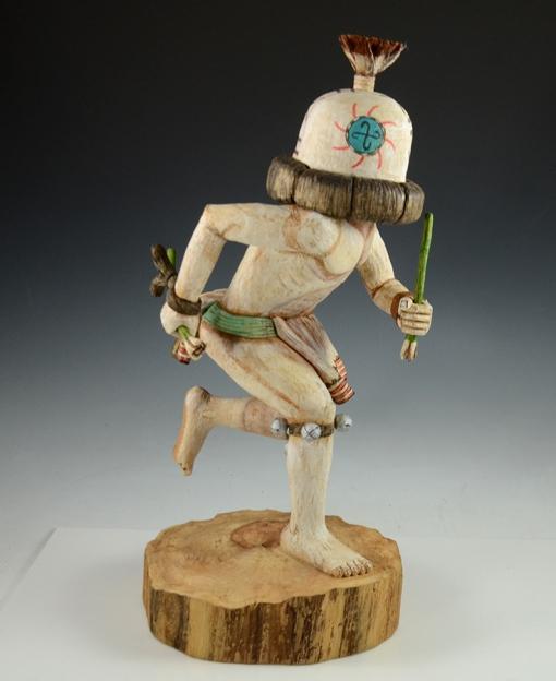 Hopi Runner Kachina by Ron HonyumptewaHopi Runner Kachina by Ron Honyumptewa
