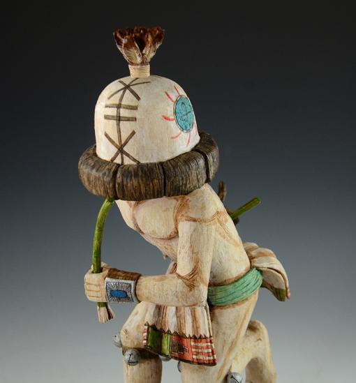 Hopi Runner Kachina by Ron Honyumptewa
