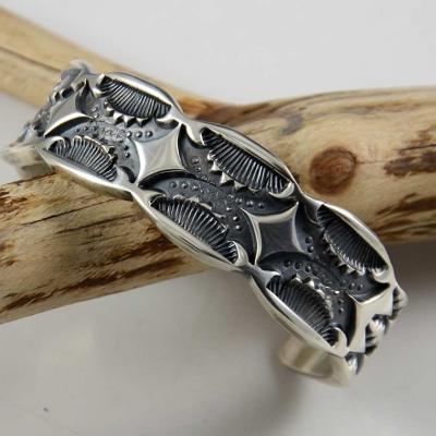 Navajo Silver Bracelet
