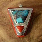 Doug Nava Turquoise Pendant