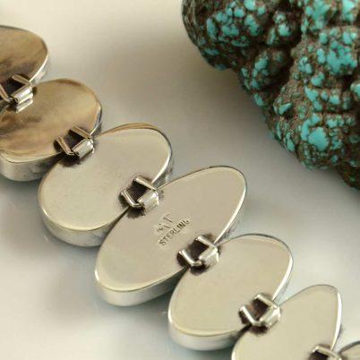 Michael Thompson Link Turquoise Bracelet