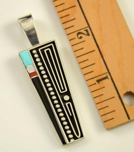 Albert Nells Wirework Inlay Pendant