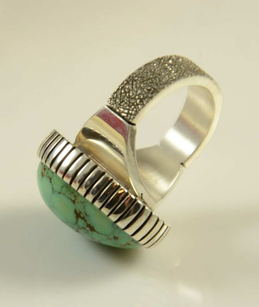 Craig Agoodie Sterling Silver Pilot Mountain Ring