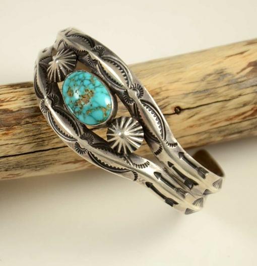 Vintage Burnham Turquoise Bracelet