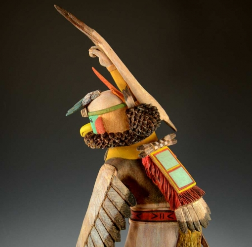 Michael Talahytewa Eagle Hopi Kachina