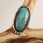 Navajo #8 Turquoise Ring Vintage