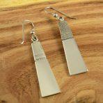 Craig Agoodie Navajo Silver Earrings