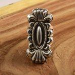 Stacey Gishal Navajo Silver Ring