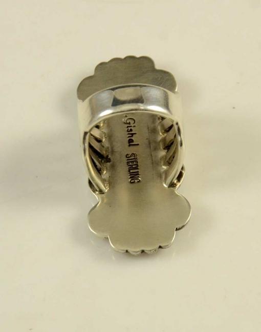 Stacey Gishal Silver Ring Navajo