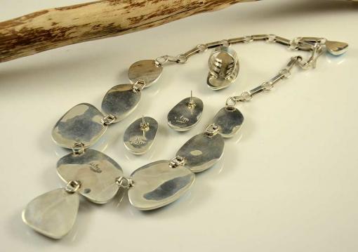Alice Lister Kingman Turquoise Necklace Set