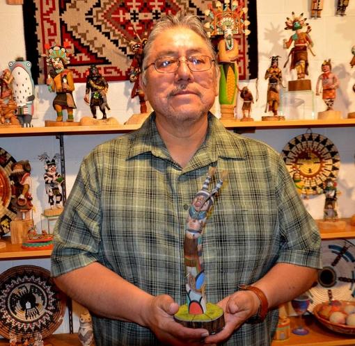 Ted Pavatea Fishing Koyala Kachina