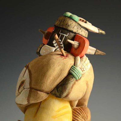 Left Handed Hopi Kachina