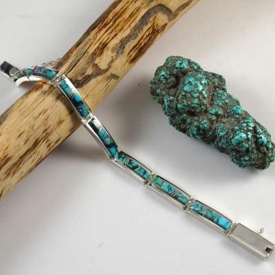 Chinese Turquoise Bracelet