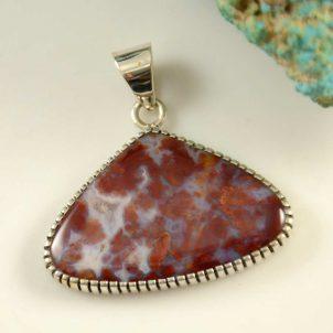 Navajo Silver Pendant