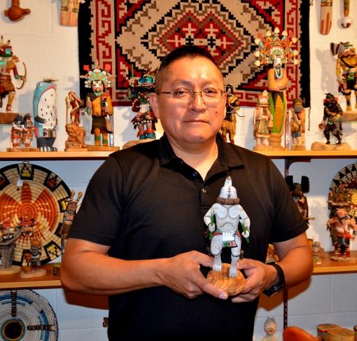 Aya Runner Hopi Kachina Ron Honyumptewa