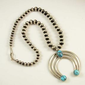 Silver Navajo Necklace