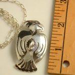 Greg Lewis Eagle Silver Pendant