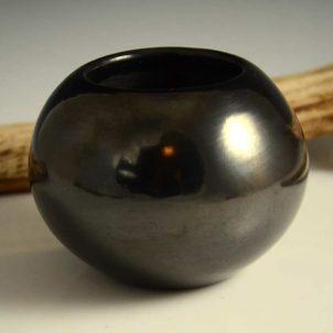 Maria Martinez Black Bowl San Ildefonso Pottery