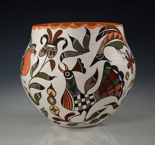 Diane Lewis Handmade Pot Acoma