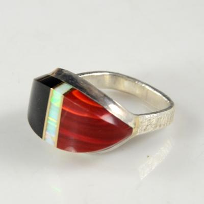 Duane Maktima Hopi Silver Ring