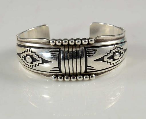 Navajo Silver Bracelet Steven Begay
