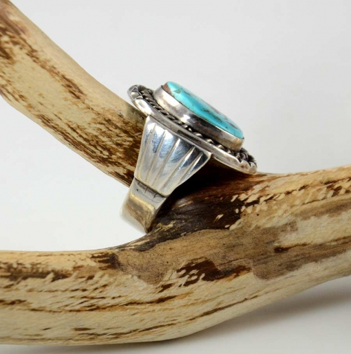 Navajo Silver Royston Turquoise Ring