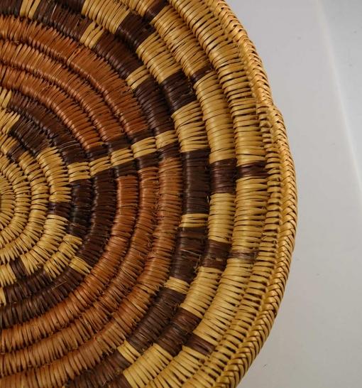 Vintage Navajo Wedding Basket