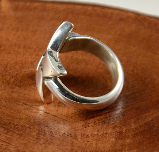 Silver Star Ring Waddie Crazyhorse